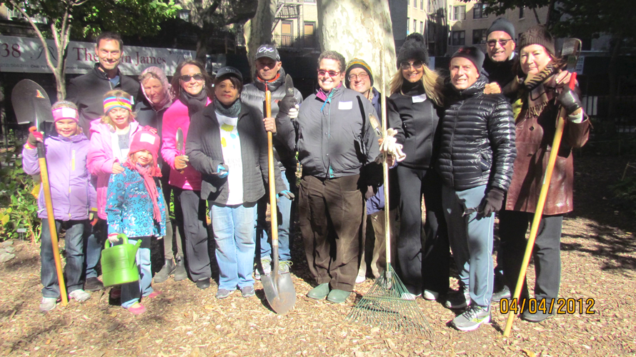 The association was formed in the '80s by a group of volunteer gardeners.