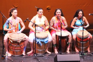 Legacy Women features Afro-Caribbean singers, drummers and dancers.