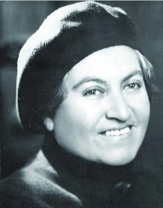 Gabriela Mistral.