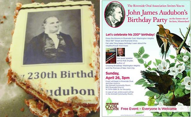 El grupo celebró el cumpleaños 230 de John James Audubon.