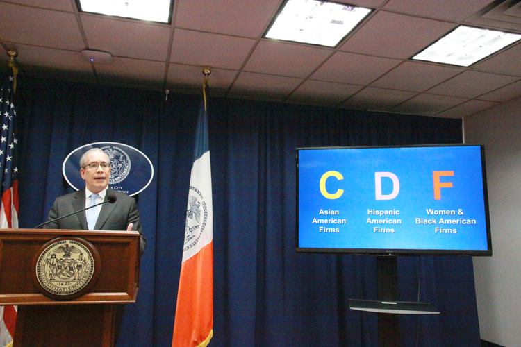 """This is unacceptably low,"" said Comptroller Scott Stringer."