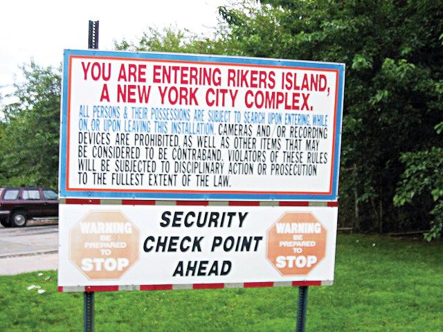 La Isla Rikers.