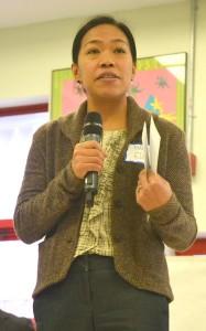 """""""Queremos escucharlos"""", dijo la presidenta de la NYCEDC, María Torres-Springer."""