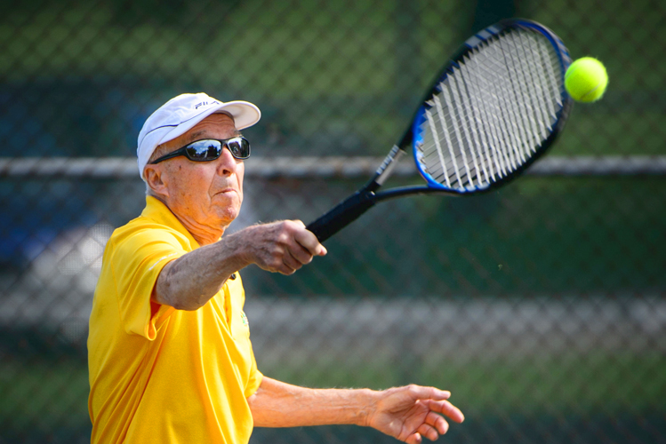 Tennis permit discounts are available for seniors.