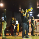 G.R.I.O.T. seeks to combine musical instruction and academic achievement.