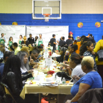 Over 200 guests enjoyed dinner.