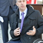 Commissioner of the Mayor's Office of People with Disabilities Victor Calise. Photo: NYC Parks/Daniel Avila