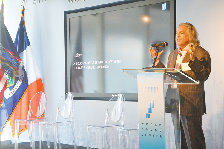Luis A. Miranda is Co-Chairperson of Nielsen's Latino Advisory Council.