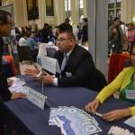 The fair drew more than 70 employers.