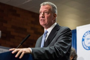 """They give input,"" said Mayor Bill de Blasio, of community boards."