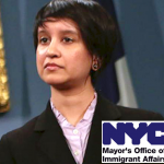 Nisha Agarwal is the Commissioner of the Mayor's Office of Immigrant Affairs.