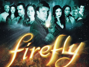 Music from the TV show Firefly will be played.