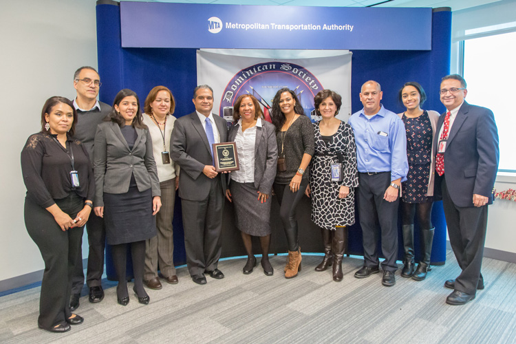 DSPT members awarded the group's first Dominican Role Model award.