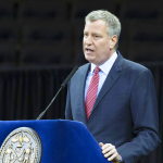"""New York City will demonstrate the power and values of our city,"" said Mayor Bill de Blasio."