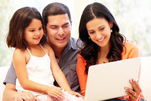 Older Hispanics spend more time online.