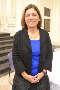 """""""We are fulfilling our mission,"""" said CCNY President Lisa Coico."""