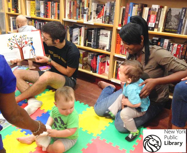 Comparta historias con sus pequeños.