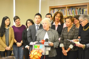 """""""Information will be more readily flowing,"""" said Schools Chancellor Carmen Fariña."""