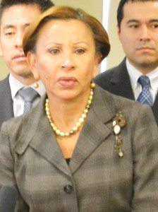 """""""These initiatives are a step forward,"""" said Congresswoman Nydia Velázquez."""