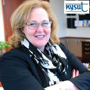 """""""La lucha de PSC es nuestra lucha"""", sostuvo Karen Magee, presidenta de NYSUT."""