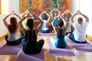 """Yoga is for everyone,"" says instructor Ginetta Bernard."