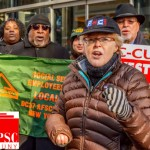 """""""CUNY funding is a justice issue for the whole city,"""" said PSC President Barbara Bowen."""