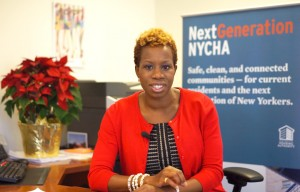 NYCHA Chair Chair and CEO Shola Olatoye.