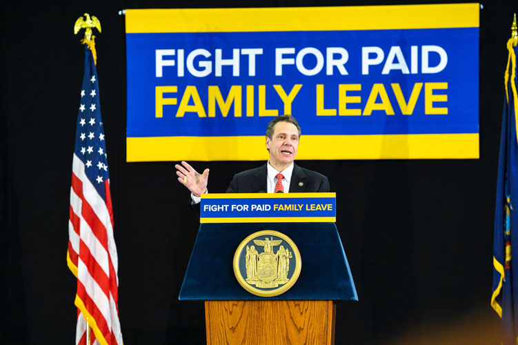 """""""This is about a fight for basic fairness,"""" said Gov. Andrew Cuomo."""