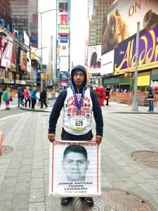"""I am running for justice,"" said Antonio Tizapa."
