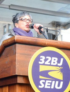 """""""Now, owners can switch contractors,"""" said 32BJ Vice President Shirley Aldebol."""