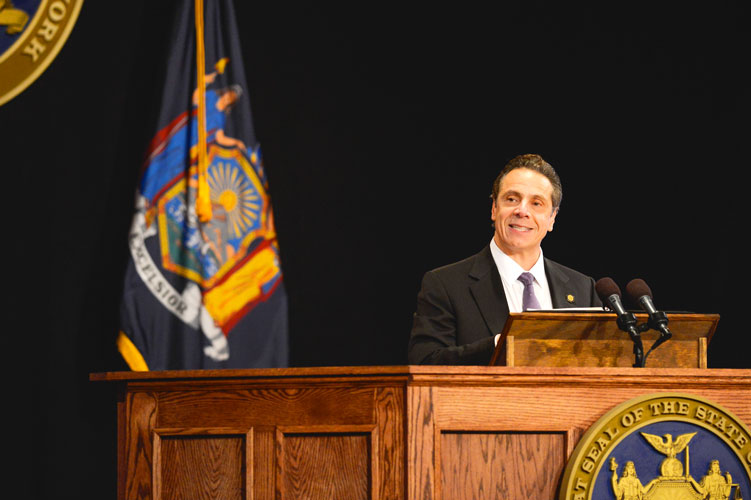 Governor Andrew Cuomo has proposed passing on nearly $500 million in costs from the state to the city.