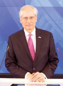 Jeremy Travis es el Presidente del Colegio John Jay de Justicia Criminal.