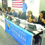 Trained volunteers are at the phones ten hours a day.