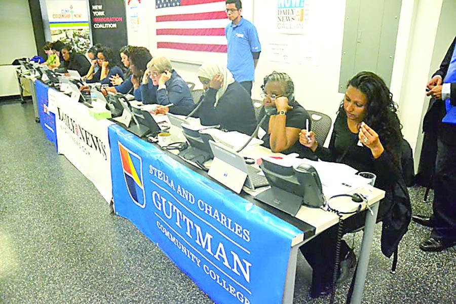Los voluntarios estarán en los teléfonos diez horas al día.