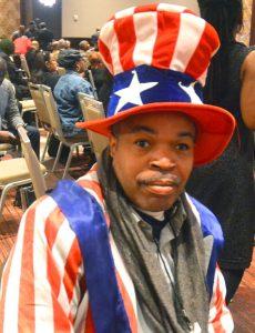 A patriotic supporter.