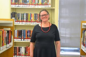 """It makes it an exciting place to work,"" says Inwood Library Branch Manager Danita Nichols."