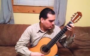 Enjoy a performance by classical guitarist Josué Pagán.