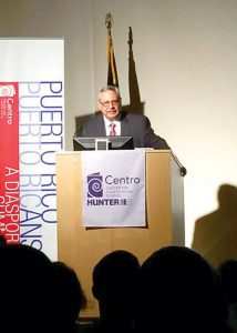 """We are in a period of crisis,"" said Edwin Meléndez, Director of the Center of Puerto Rican Studies at Hunter College"