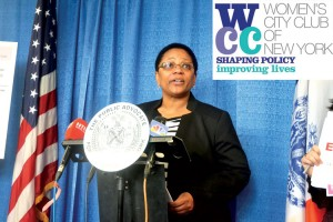 """It is alarming that the disparity is even greater for women of color,"" stated Jacqueline Ebanks, Executive Director of the Women's City Club of New York."