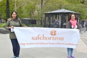 Representatives of Safe Horizon.