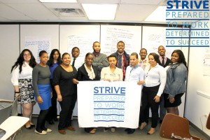 STRIVE International, which provides job readiness for chronically unemployed individuals, was one of the grantees.