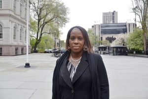 """""""We can't just talk about it, we need to be about it,"""" said Councilmember Vanessa Gibson."""