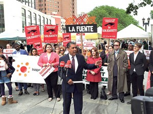 Sen. Adriano Espaillat has called on greater protections for farmworkers.