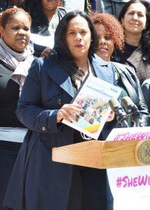 """It took a woman,"" said Councilmember Julissa Ferraras-Copeland."