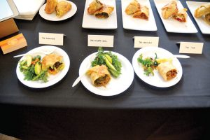 The event gathered 20 food vendors and restaurateurs.