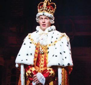 Jonathan Groff fue nominado por su actuación del Rey Jorge.