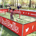 The Red Bulls hosted a skills challenge.