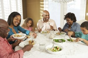 Choose a balanced, heart-healthy diet as a family.