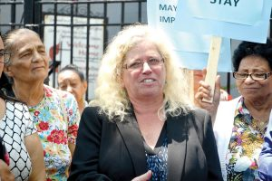 """We must keep our home,"" said Executive Director Fern Hertzberg,"