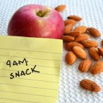 Healthy snacking between meals can help.